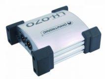 DI-Box aktiv dual Omnitronic LH-070