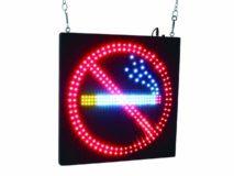Leuchtschild Rauchverbot
